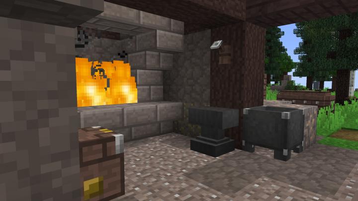 Blacksmith Interior!