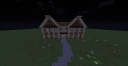 Wooden Mansion Minecraft Map & Project