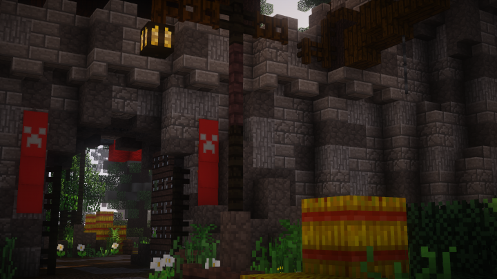 Entrance To A Castle! Sildur Shader