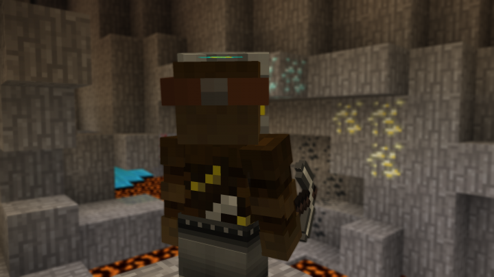 Mining All Of The Different Ores!