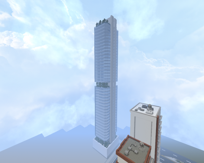 Sick Skyscraper - by deimux  Its so big, I cant fit it in