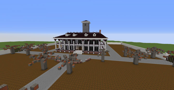 Gerouge Plantation Stay Alive Minecraft Project