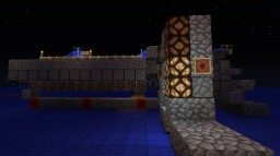 Nether Wart Farm Concept with Storage Silo Minecraft Map & Project