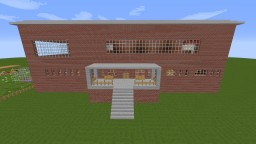 High School With Dorms Minecraft Map Minecraft