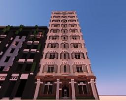 Claire Building - Los Cruz- IAS Minecraft Map & Project
