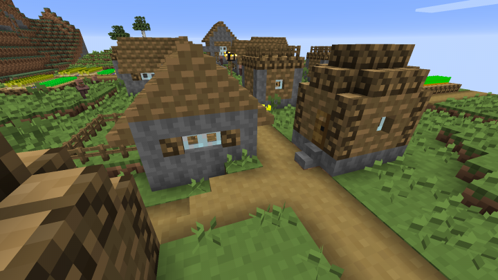 New cobble texture on villages