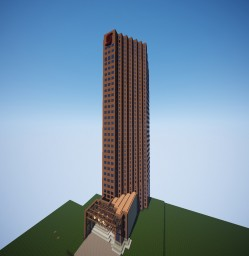Scotia Plaza Tower Minecraft Project