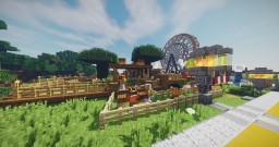 Medieval/Steampunk Market Minecraft Project