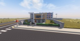 Contemporary Modern House I Oakland Minecraft Map & Project
