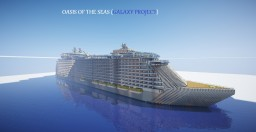Oasis of The Seas (Galaxy Concept) Minecraft