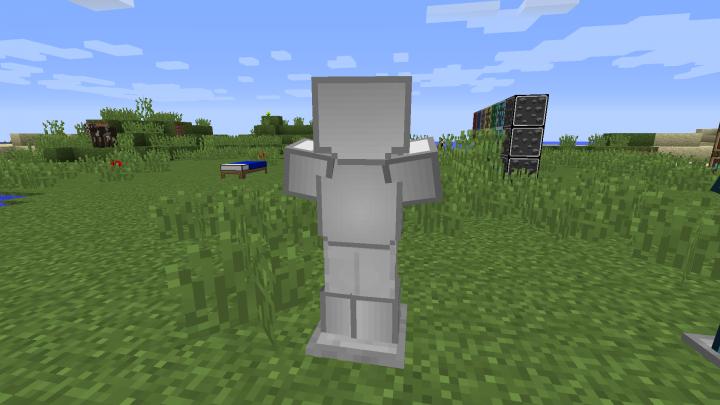 Iron Armor Back