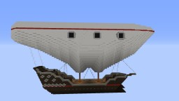 The Atlantean, a Steampunk Airship Minecraft Map & Project