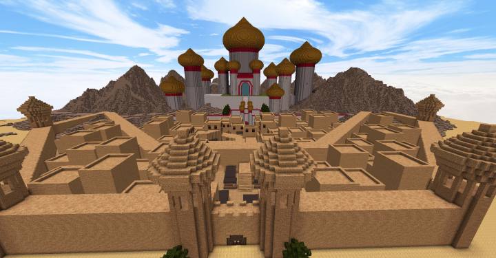 The city of Agrabah