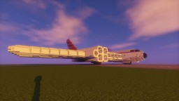 Fallout 4 Blended Wing Jet Liner Minecraft Project