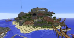 Roman city | lobby Minecraft Map & Project
