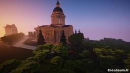 Panthéon Minecraft Map & Project