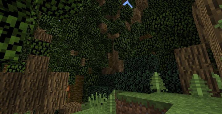 The dense foliage of Isla Nublar is a sight in itself.