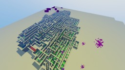 Endurance Maze [Download] - Hard speedrun for you and your friends! Minecraft Project