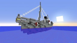 Dutch navy patrol ship Minecraft
