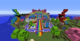 World of Colour Mansion Minecraft Map & Project