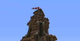 Epic Fantasy Medieval Archer Tower Minecraft Map & Project