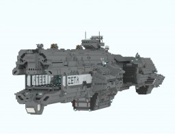 Space carrier Zeta Minecraft Map & Project