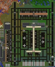 MineCity International Airport | Matt's MineCity Minecraft
