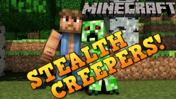 STEALTH CREEPERS! Chameleon Creepers Mod Showcase! Minecraft Blog Post