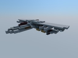 Crusader-Class Heavy Bomber Minecraft Map & Project