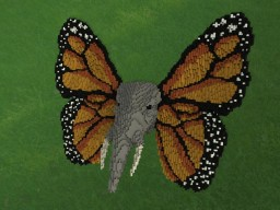 Elephant with Butterfly wings Minecraft Project