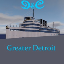 SS Greater Detroit 4:1 ~ 1950's version ~ Download Minecraft Map & Project