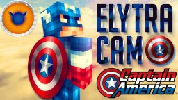 CAPTAIN AMERICA ELYTRA CAMO | Elytra disguised as Captain America's Shield! More shield optics/variants planned! High quality textures, high resolution! Minecraft Texture Pack