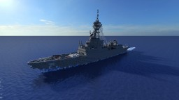HMAS Hobart DDG-39 (2017) v2 [1:1] [Exterior Only] Minecraft Map & Project