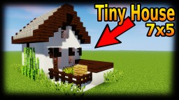 Minecraft: How To Build A Tiny House Tutorial #1 | Minecraft | Easy Minecraft Map & Project
