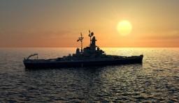 USS BB South Dakota Minecraft Project