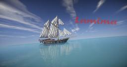 Lamima   Sailing Yacht (ShipSide) Minecraft Map & Project