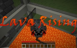 Rising lava Minecraft