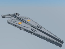 1/1 scale Arquitens-class light cruiser Minecraft