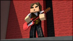 I recreated Guitar Hero 3 in Minecraft using Animation