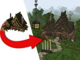 Jeracraft - Medieval Tavern Transformation / Conquest Minecraft Map & Project