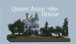 Queen Anne House (World of Wegner) Minecraft Map & Project
