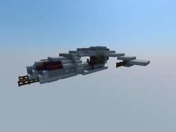Raider-Class Dropship Minecraft Project
