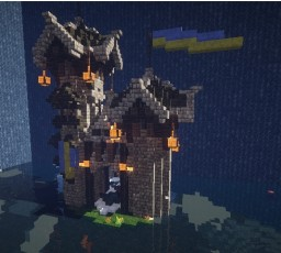 CTF Blue Team Spawn Minecraft Project