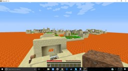 The floor is lava village surival Minecraft Map & Project