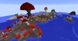 Isla de Setas Minecraft Map & Project