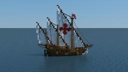 Caravel (Niña) Minecraft Map & Project