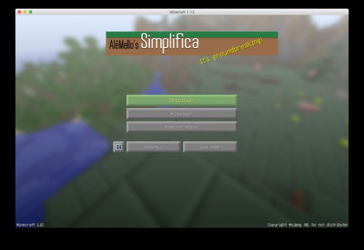 Simplifica! by AlêMello Minecraft Texture Pack