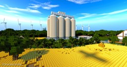 St. Joseph Grain Silos | Republic of Union Islands Minecraft Map & Project