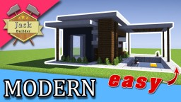 Modern House #2 Minecraft Project