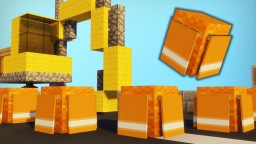 Minecraft - How To Make A Traffic Cone #2 Minecraft Project